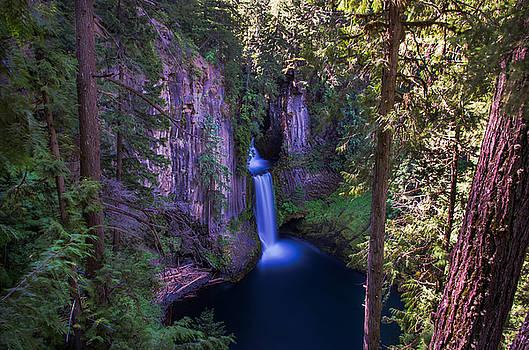Tokatee Falls Oregon by Scott McGuire