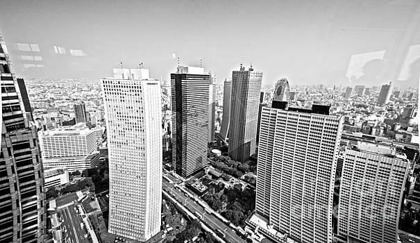 Tokyo Skyline by Pravine Chester