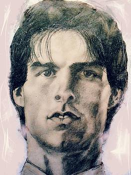 Tom Cruise portrait by Agnes V