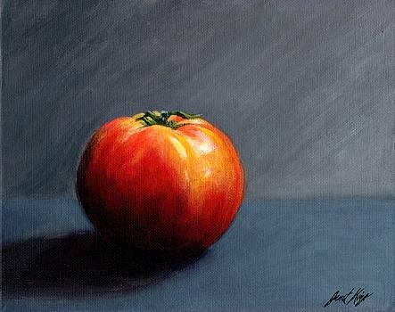 Janet King - Tomato Still Life 2