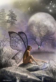Tonight She Waits by Crispin  Delgado