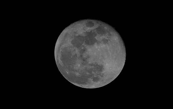 Tonights moon by Jeff Swan