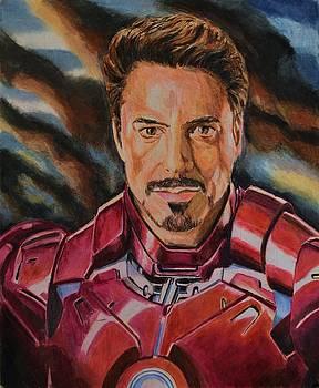 Tony Stark by Dwain
