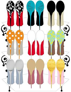 Too Many Shoes? by Yoli Fae