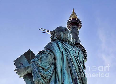 Chuck Kuhn - Torch Statue of Liberty NY