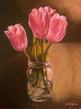 Tori's Tulips by Cynthia Snider