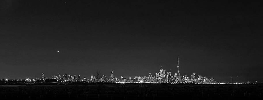 Steve Harrington - Toronto - bw