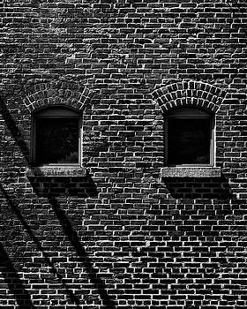 Toronto Distillery District Windows No 1 by Brian Carson