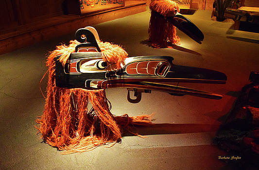 Totem Heritage Center Ketchikan Alaska 2 by Barbara Snyder