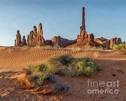 Totem Poles No 1 by Jerry Fornarotto
