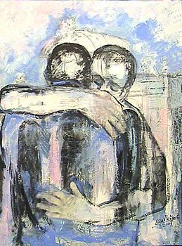 touching heaven - Embraced  2009 by Elisa Merino Calvo