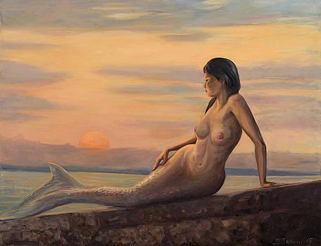 Touching the sun by Marco Busoni