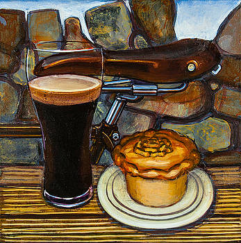 Tour de Yorkshire pie n't pint by Mark Howard Jones