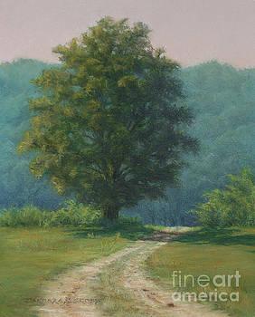 Toward the Pasture - farm at Salem Cross Inn by Barbara Groff