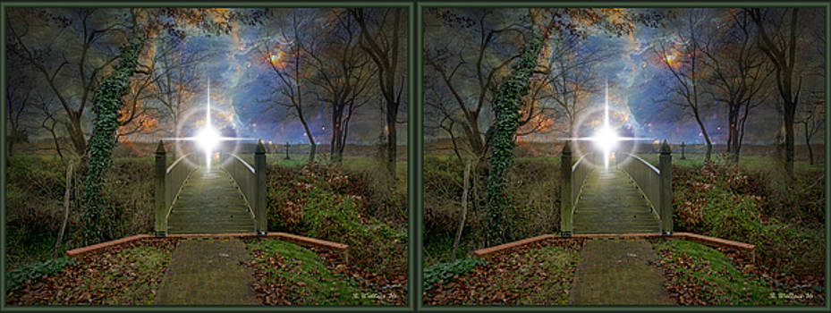 Towards The Light - 3D Stereo X-View by Brian Wallace