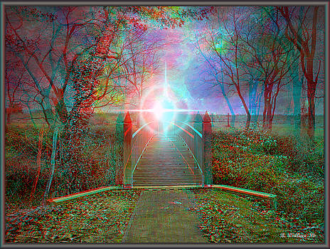 Towards The Light - Use Red-Cyan 3D glasses by Brian Wallace
