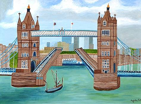 Tower Bridge London by Magdalena Frohnsdorff