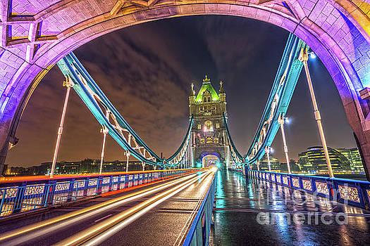 Tower Bridge - London - UK by Luciano Mortula