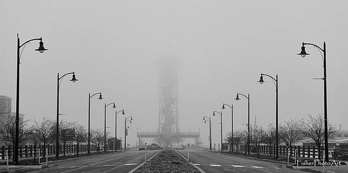 Tower Under Fog by Brian Fisher