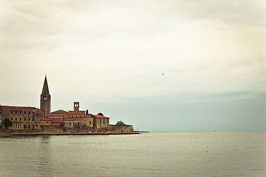 Town of Porec UNESCO world heritage site by Dalibor Brlek