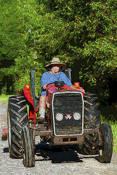Tractor Packing Papa by Kathy Clark