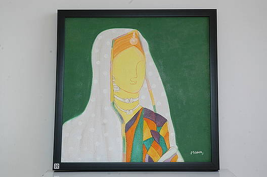Traditional Woman by Mona Bhavsar