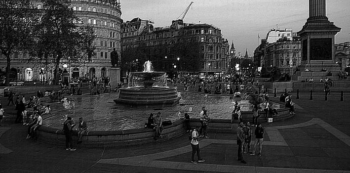 Trafalgar Square, London, England, 2016 by Wayne Higgs