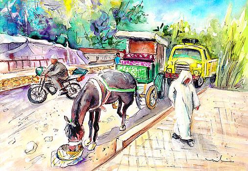 Miki De Goodaboom - Traffic In Ait Ourir In Morocco