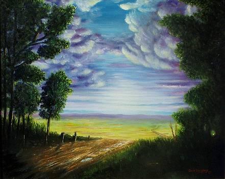 Trail away  by Gene Gregory