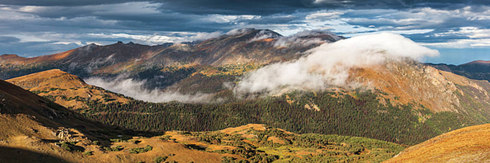 Trail Ridge Overlook by Thomas Schoeller