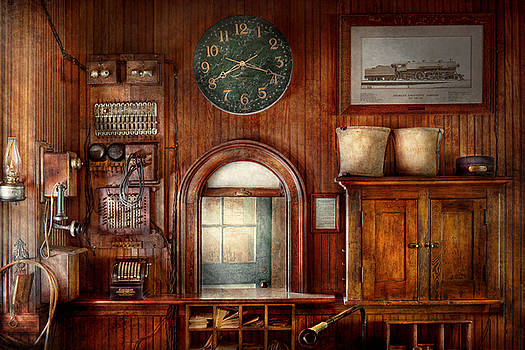 Mike Savad - Train - Office - The ticket takers window