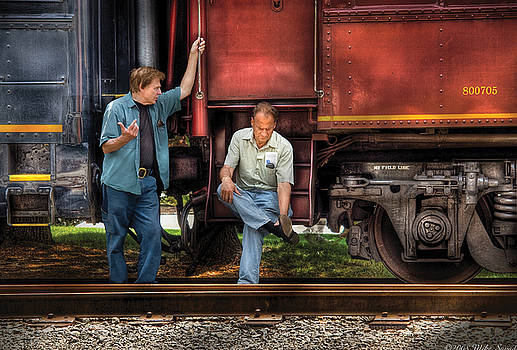 Mike Savad - Train - Yard - Shoot