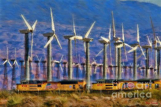 Blake Richards - Train And Wind Mills