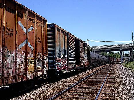 Anne Cameron Cutri - Train Colors 1