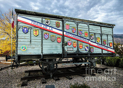 Train De La Reconnaissance Francaise - Ogden - Utah by Gary Whitton
