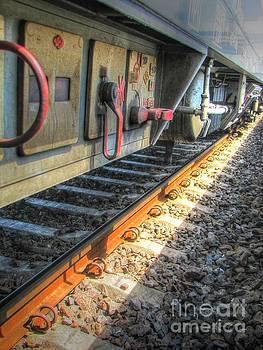 Train Road by Yury Bashkin