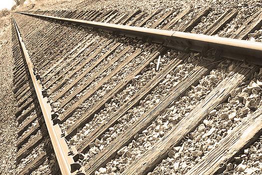 James BO  Insogna - Train Tracks Sepia Triangular