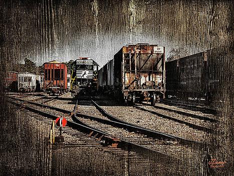 Train Yard by Jim Ziemer