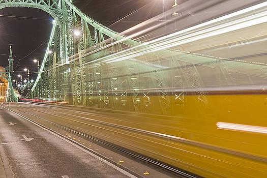 Tram in Budapest by Kobby Dagan