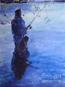 Tranquil Fishing by Greta Corens