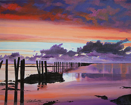 Tranquil Sunset by Bill Dunkley