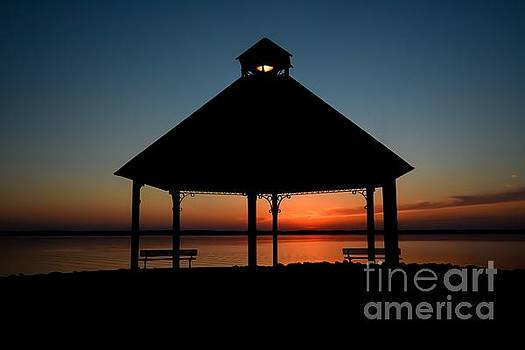 Tranquil Sunset by Debbie Green