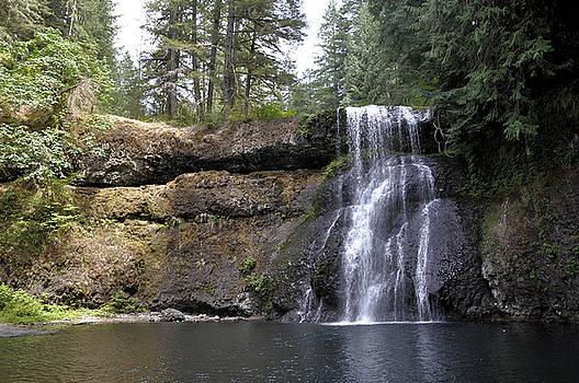 Tranquil Waterfall by Jim Walls PhotoArtist