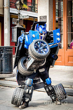 Kathleen K Parker - Transformer Man in French Quarter