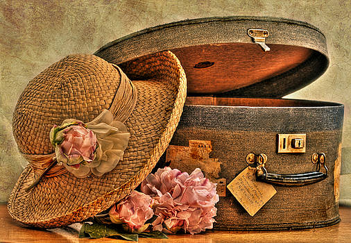 Traveling Lady by Sandra Rossouw