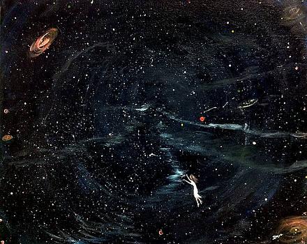 Traveling to space by Deyanira Harris