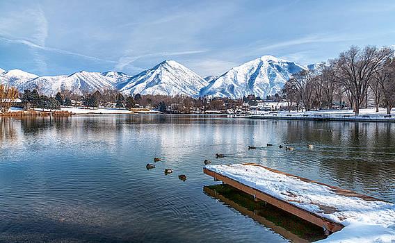 Travelling Salem Lake by David Millenheft