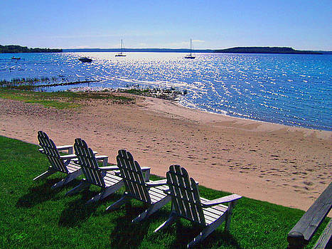 Traverse Bay Reverie by James Rasmusson