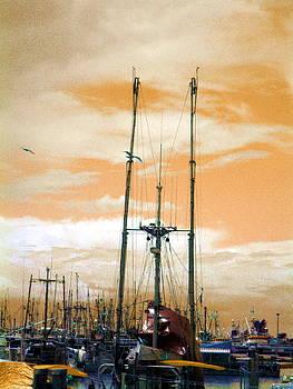 Ming Yeung - Trawlers at Dawn