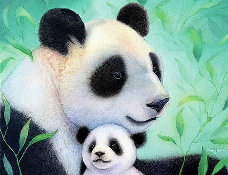 Treasure Delight Pandas by Tracy Herrmann